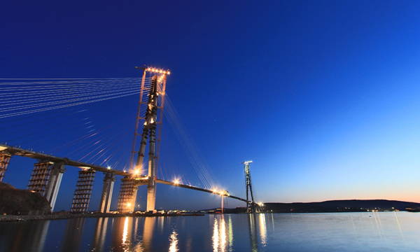 золотой рог владивосток мост фото