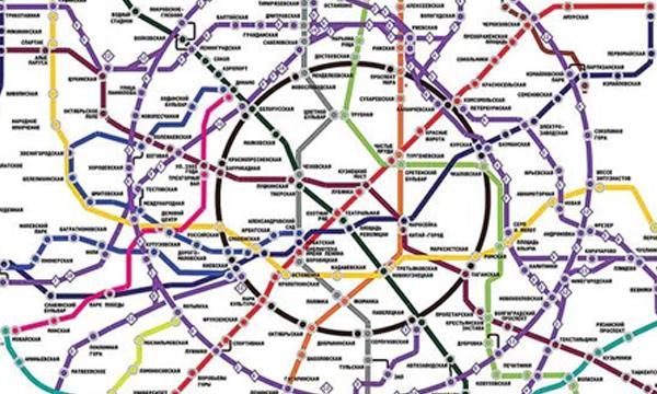 карта метрополитена москвы