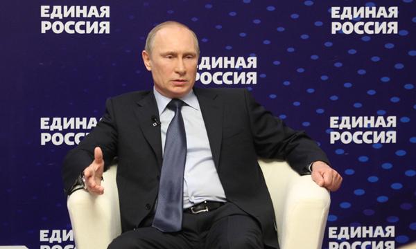 Путин Президент и Партия Единая Россия