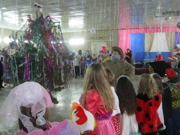 Новый год в воскресенском районе
