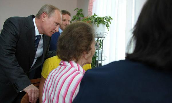 Путина в дом престарелых интернат для престарелых тамбов