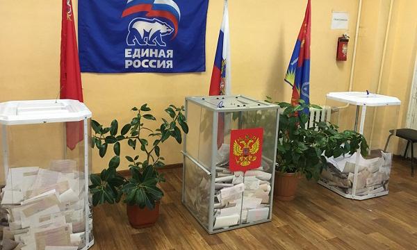 Явка напраймеризв «Единой России» вПодмосковье составила  10%