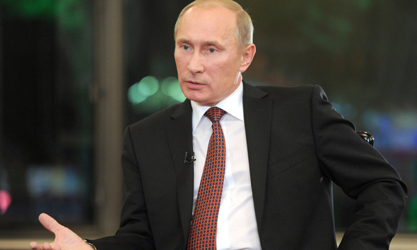 Путин член ер
