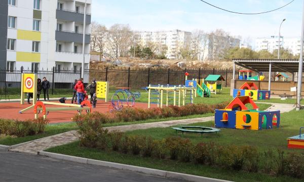 КоДню основания края вХабаровске сдан детский парк на230 мест