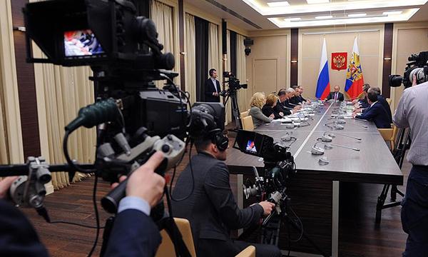Путин предложил сделать вРФ площадку для электронной торговли