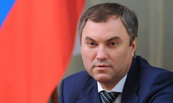 Вногу стечением времени: Володин предложил принимать избирателей через интернет