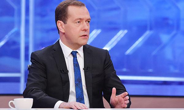 Медведев: Российская Федерация в2015-м году собрала рекордный урожай зерна