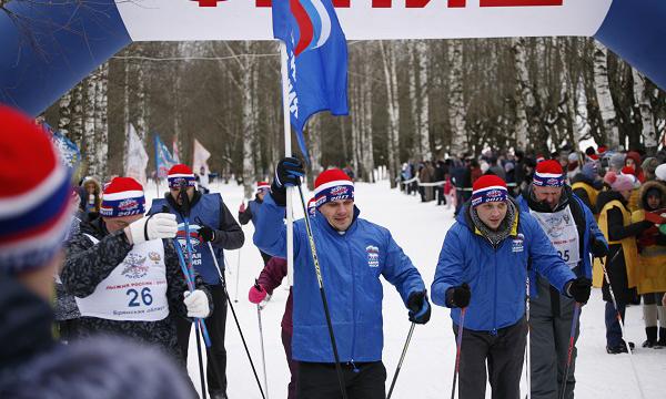 Неменее 5-ти тыс. человек приняли участие в«Лыжне России» вБрянске
