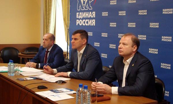 Партийцы четырех регионов Урала обменялись опытом реализации партпроектов