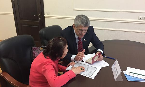 Депутат помог заявительнице из Ставрополя попасть на срочное обследование