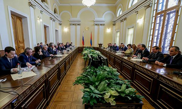 Армения является для Российской Федерации стратегическим партнером— Вячеслав Володин