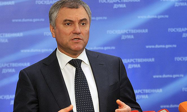У русской делегации получится разговор сПАСЕ— Вячеслав Володин