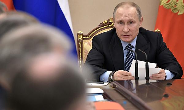 Путин: РФ уверенно держит 2-ое место вмире поэкспорту вооружений