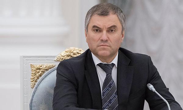 Володин занялся укреплением отношений Российской Федерации иСербии