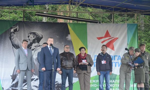 В Калужской области в рамках партпроекта состоялся патриотический фестиваль «Дорога памяти»