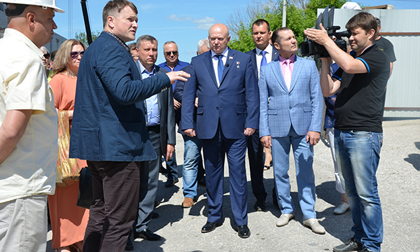 В 2017 году в рамках партпроекта пройдут ремонтно-реставрационные работы по объекту «Три корпуса Торговых рядов – XIX в. Корпус 1» в Касимове
