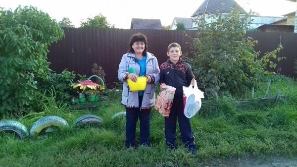 конечного потребителя малообеспеченная многодетная семья в новосибирске России