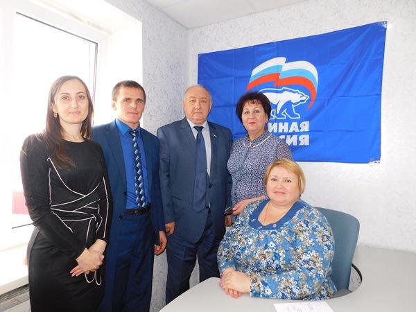 Региональная приемная провела выездной прием граждан в Пристенском районе