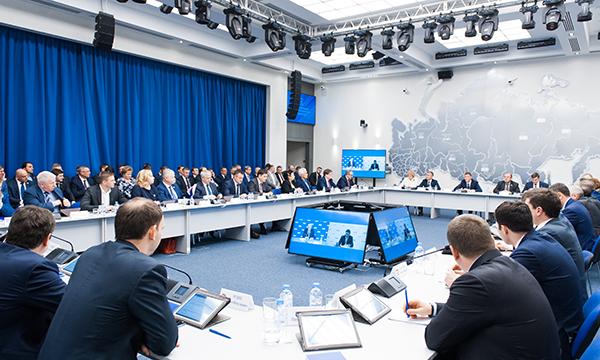 Президиум генсовета «Единой России» утвердил положение о привязке МКС к восьми федеральным округам страны