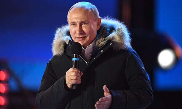 """Владимир Путин: """"Россию ждет успех!"""""""
