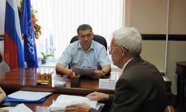 Воронежские партийцы помогут заявителю разобраться с вопросом пенсионного обеспечения