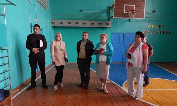 Спортзал Первомайской сельской школы будет отремонтирован в рамках партпроекта