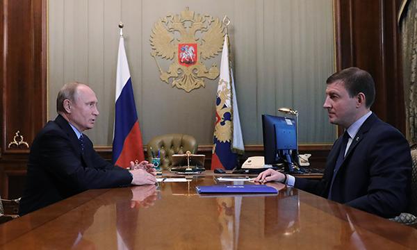 Путин провел встречу с секретарем Генсовета Партии Андреем Турчаком