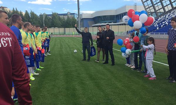 Домодедовские партийцы организовали для детей с ОВЗ поездку на футбольный матч