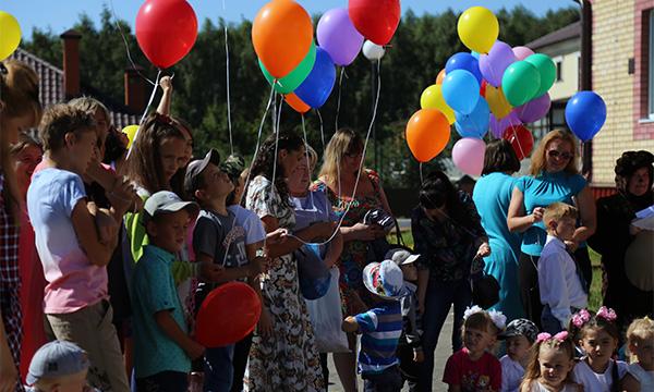 В Верхнеуслонском районе открылся новый детский сад