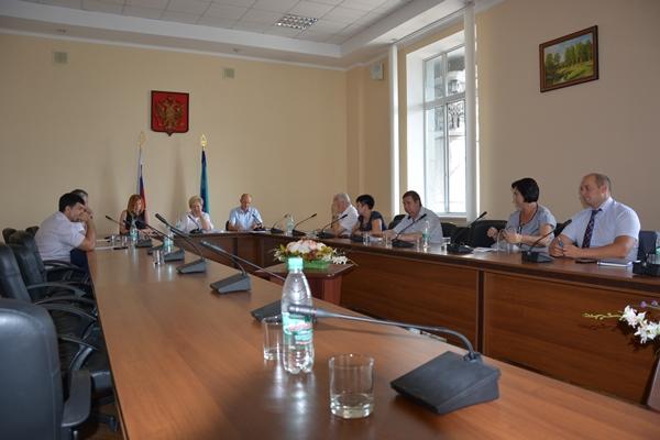 В Курском горсобрании прошло заседание фракции единороссов