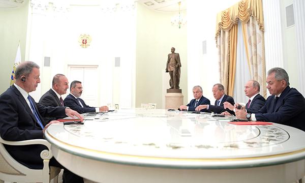 РФ и Турция с другими странами серьезно продвинулись по урегулированию в Сирии – Путин