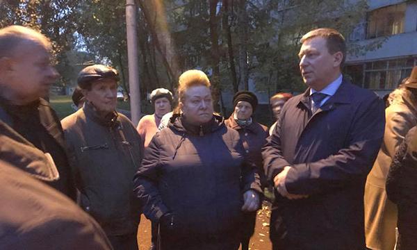 Московские партийцы помогли решить проблемы благоустройства в Метрогородке