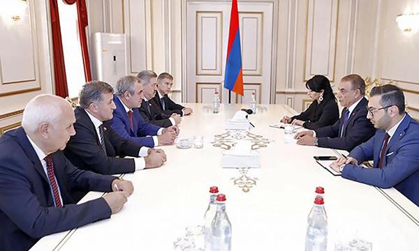 Неверов посетил с рабочим визитом Республику Армения