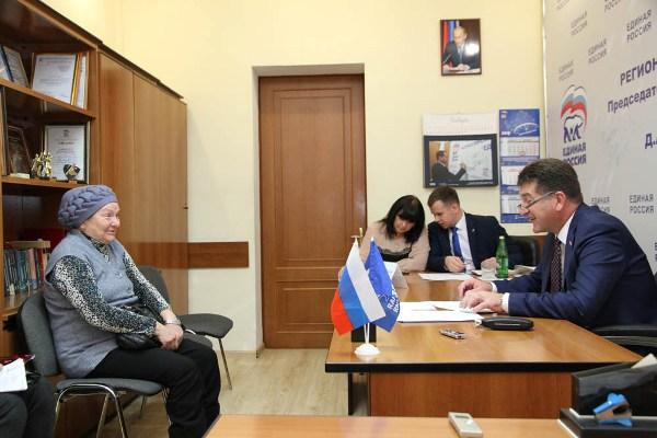 Глава города Брянска провел личный прием граждан
