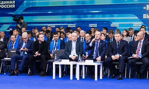 Селиверстов: «Единая Россия» понимает ответственность, с которой выходит в 2019 год