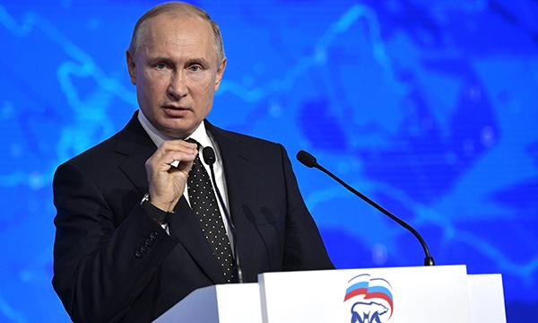 Путин: «Единой России» надо работать на результат, а не топтаться на месте