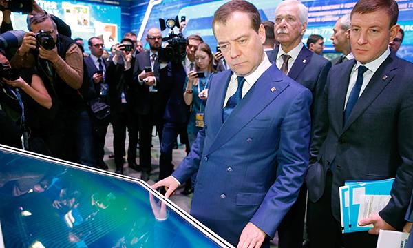 Председателю Партии в рамках Съезда представили два проекта - ЦПГИ и «Чистая страна»