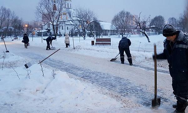 Партийцы помогли решить вопрос с расчисткой снега в Реутове