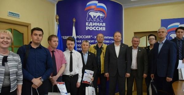 В Екатеринбурге наградили победителей акции «Диктант Победы»