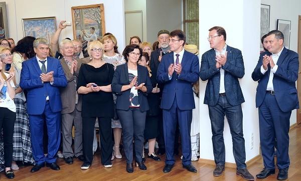 Хинштейн наградил победителей конкурса «Во славу земли Самарской»