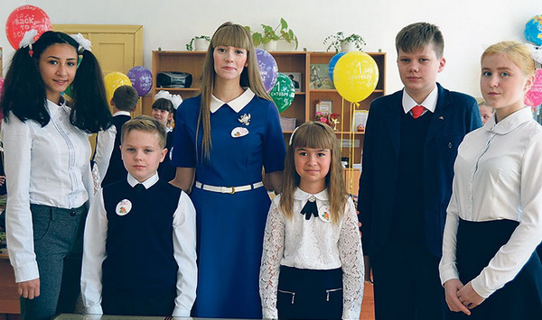 В Заволжье установили «Парту Героя»