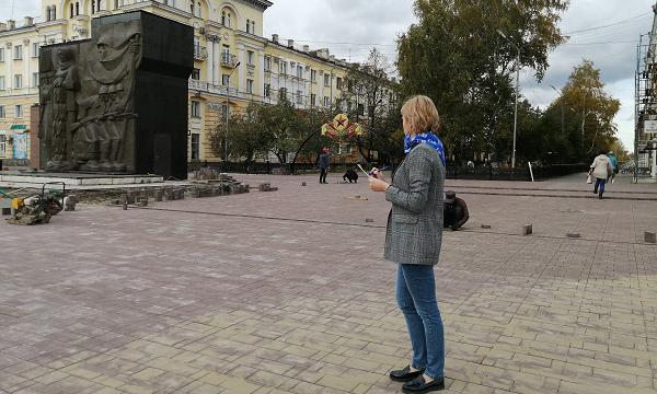Народные контролеры Ленинска-Кузнецкого не нашли нарушений в реконструкции площади Победы
