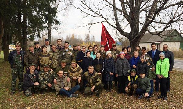 В Псковской области в рамках партпроекта перезахоронили останки участников Великой Отечественной войны