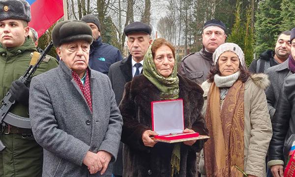 В День Героев Отечества в Брянске перезахоронили останки фронтовика