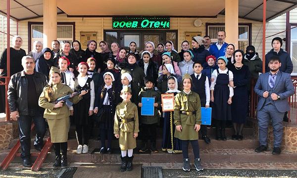 В Чеченской Республике прошли мероприятия, приуроченные ко Дню Героев Отечества