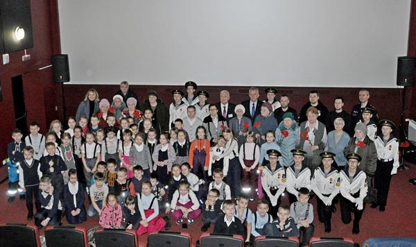 В Североморске состоялся показ фильма «Дети войны»