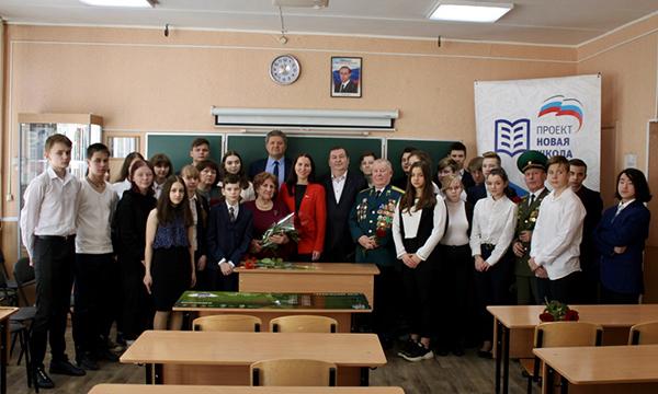 В школе №60 Нижнего Новгорода появилась «Парта Героя»