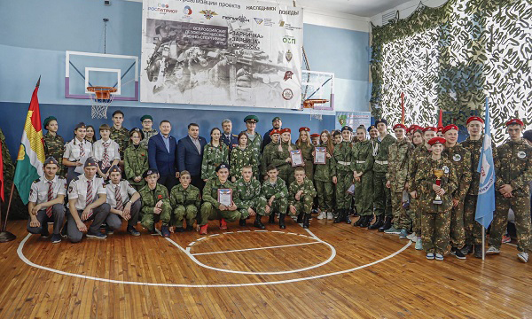 В Кемеровском округе в рамках партпроекта прошла военно-спортивная игра «Орленок»