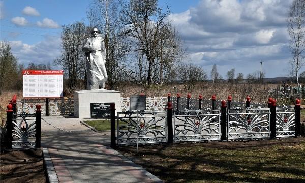 Братские захоронения в Белевском районе Тульской области приводят в порядок в рамках партпроекта «Историческая память»