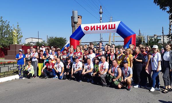 Единороссы провели в Курской области забеги «75 тысяч шагов к Победе»